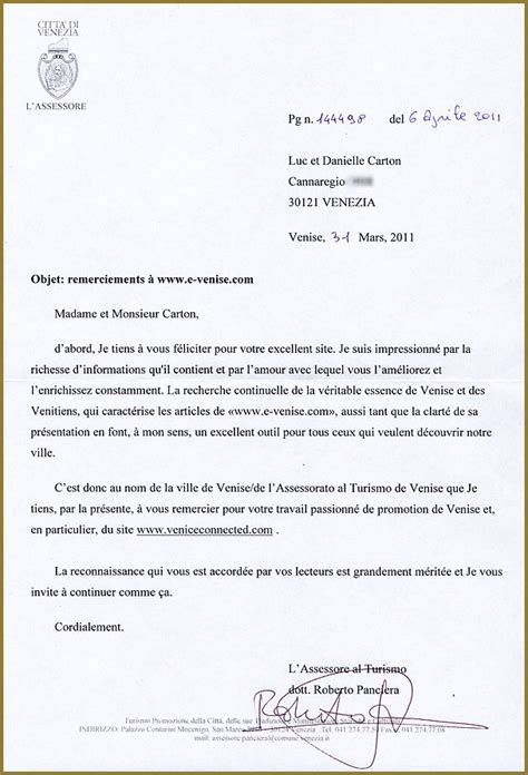 Lettre De Remerciement Officielle Mod 232 Le De Lettre De Remerciement Officielle Covering Letter Exle