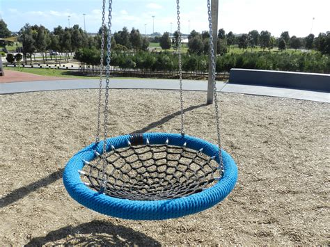 bird nest swing casey fields play space and village green melbourne