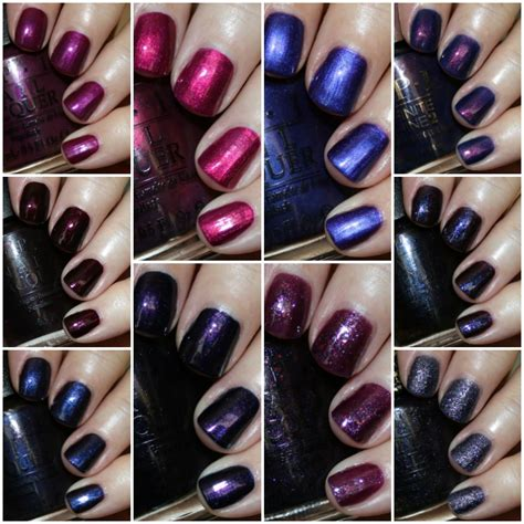 opi purple colors my favorite purple opi nail lacquer colors vy varnish