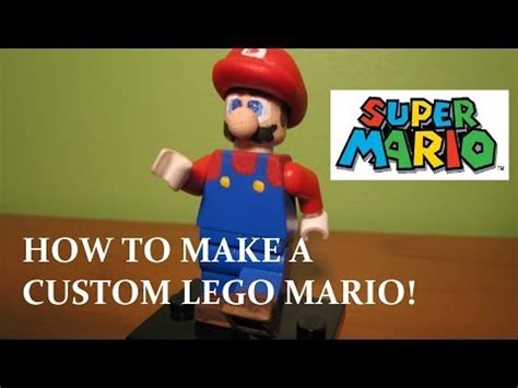 lego wii tutorial full download how to make a custom lego minifigure tips