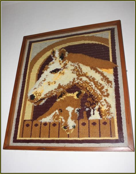 how to frame a latch hook rug hello latch hook rug kit home design ideas