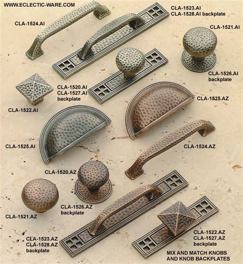 craftsman style cabinet hardware classic brass arts and crafts collection of old style