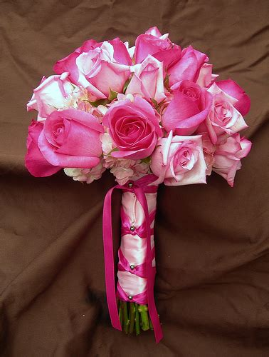 Pink Wedding Flower Bouquets by Pink Wedding Bouquet Bouquet4princes