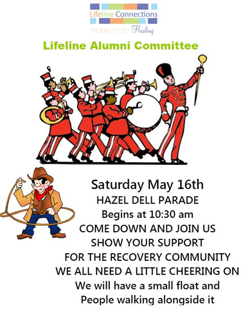 Lifeline Connections Detox by Lifeline Alumni Float Is Participating In Hazel Dell