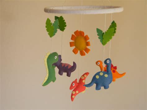 sale 20 dinosaur mobile nursery crib mobile felt dinosaur