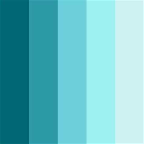 what does the color teal shades of teal color theme by rberteotti adobe kuler