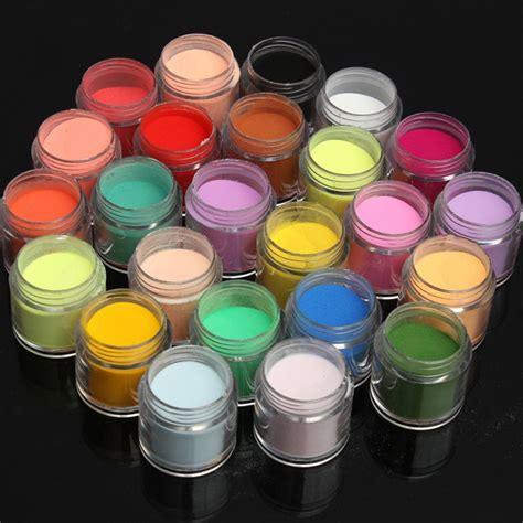 Nagel Kunst by 24 Farben Acrylpuder F 252 R Nagel Kunst I Myxlshop Powertipp