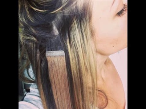 are tape extensions good for updos tape hair extensions on short hair youtube