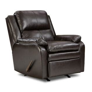 recliners at sears simmons upholstery baron leather rocker recliner shop