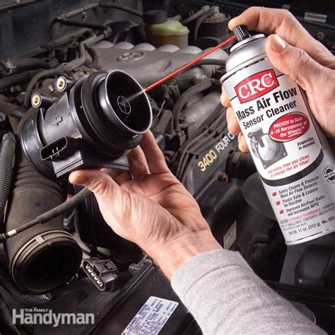mass air flow sensor maf cleaning  family handyman