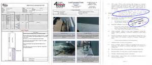Roof Report Template foresight services inc building and repair architects