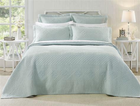 blue bed spread josephine pastel blue bedspread bed bath n table