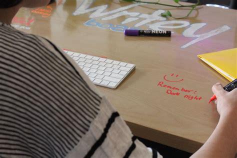 Erase Desk by Writey Desk Erase Desk 187 Gadget Flow