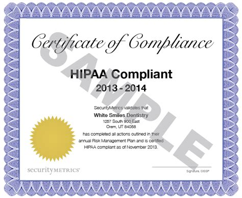 hipaa certification letter hipaa certificate template anuvrat info