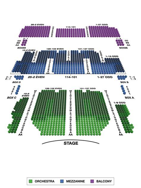 united palace theatre seating capacity palace theatre broadway seating charts broadwayworld