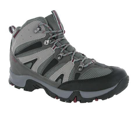 new mens hi tec condor grey waterproof walking hiking