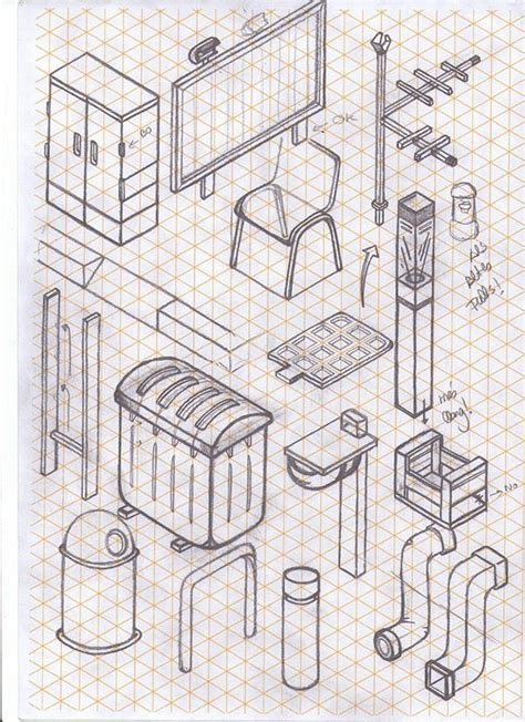 Isometric Drawing Lines