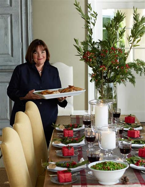 ina garten menus as the host of barefoot contessa on food network and