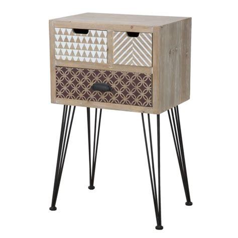 comodino per cameretta comodino da cameretta o bagno in stile vintage legno di