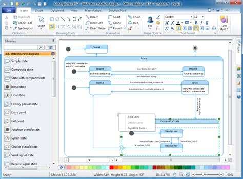 state transition diagram tool state diagram drawing tool 28 images state diagram