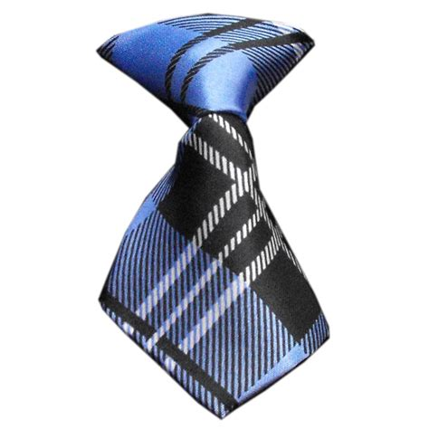 Plaid Neck Tie plaid neck tie blue baxterboo