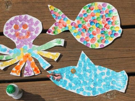 toddler crafts various diy paper plate sea animals kidsomania