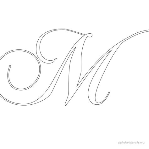 search results for fancy letter stencils to print free