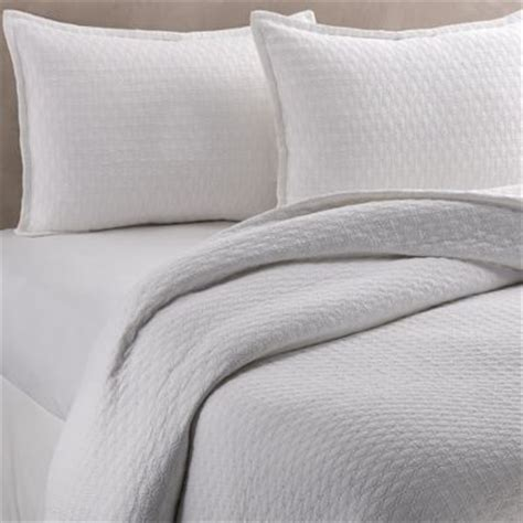 vera wang coverlets buy vera wang puckered diamond matelass 233 queen coverlet