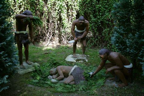 wann lebten die neandertaler file bautzen gro 223 welka sauriergarten neandertaler 01
