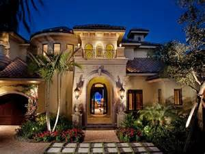 Mediterranean House Design Weber Design Group In Naples Fl Stucco Archway