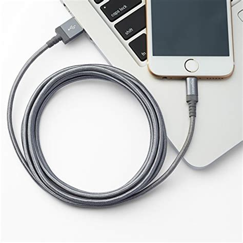 Amazonbasics Cable Apple by Amazonbasics Braided Usb A To Lightning Compatible Cable Import It All