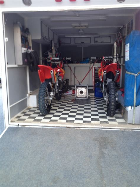 motocross bike trailer 6x12 trailer setups moto related motocross forums