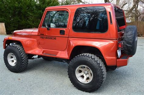 Restored Jeeps For Sale Restored Jeep Wrangler Renegade Yj All New Components