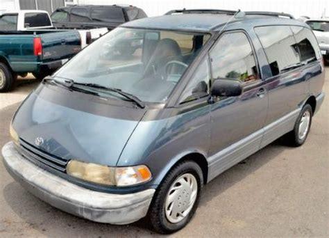 cheap minivan    ky toyota previa le