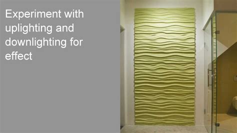 Led Backsplash Panels how to install 3d textured wall panels youtube
