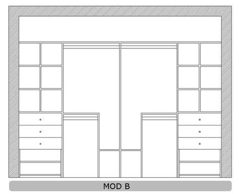 placares  medida ideas  pinterest armarios empotrados  medida closet  medida