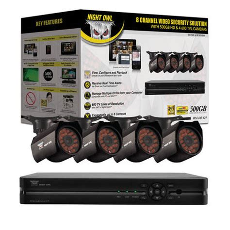 night owl wm 845 624 security system by office depot
