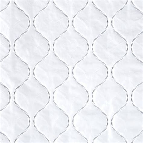 White Quilted Fabric by Quilted Vinyl Solid White Discount Designer Fabric