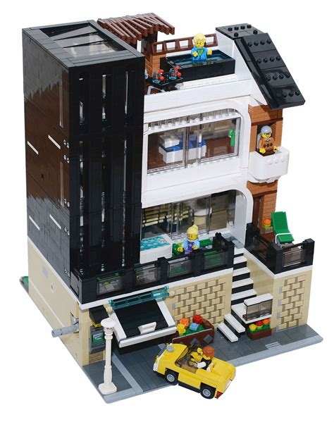 casa lego lego moc modular edificio moderno cazabricks noticias