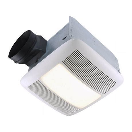 ducted exhaust fan bathroom nutone energy star 6 quot ducting light and bathroom exhaust
