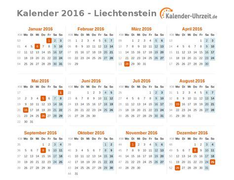 Feiertage Kalender 2016 Feiertage 2016 Liechtenstein Kalender 220 Bersicht