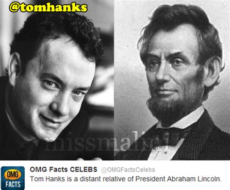 abraham lincoln tom hanks oh my god top 10 facts missmalini