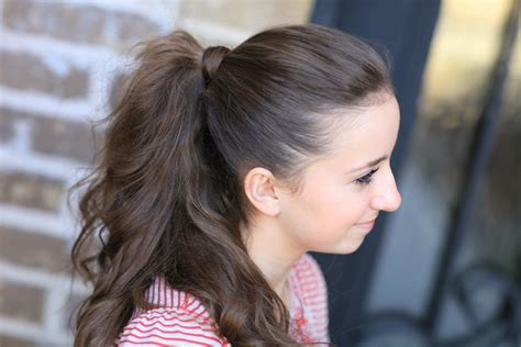 girl hairstyles pony how to get the perfect ponytail hairstyle tips cute