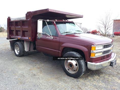 chevrolet  dually  ton pto deisel dump truck manual turbo diesel