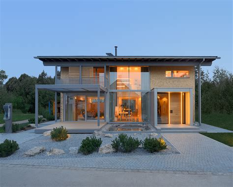 modern house designs pictures gallery smart house by baufritz first certified self sufficient