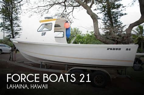 sport fishing boats for sale in hawaii for sale used 2005 force boats 21 in lahaina hawaii