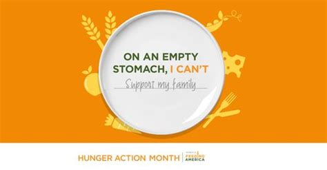 what can you do during hunger action month?