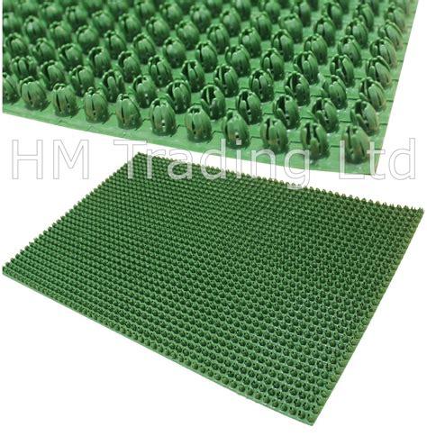 Plastic Doormat - outdoor door mat plastic astro artificial grass turf look