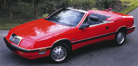 87 Chrysler Lebaron by 5 Newly Classic Convertibles 1987 Edition The Daily