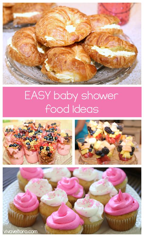 Easy Food Ideas For Baby Shower by These Easy Baby Shower Food Ideas Favorite Pins